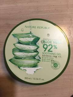 NATURE REPUBLIC ALOE VERA 92% 300ML