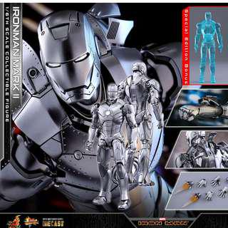 Hot Toys Iron Man Mark II 1/6 Scale (Die-Cast) Special Edition PO