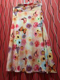 Flower Butterfly Skirt
