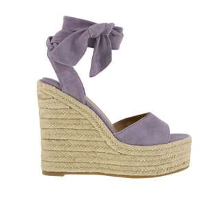 tony bianco lilac suede barca wedges size 41