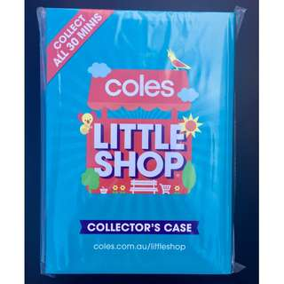 COLES LITTLE SHOP CASE FOLDER ALBUM SEALED UNOPENED BRAND NEW! FREE SHIPPING!!