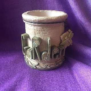 Ceramic pot from Australia