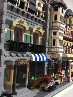 LEPIN 2 X buildings (LEGO lookalike)
