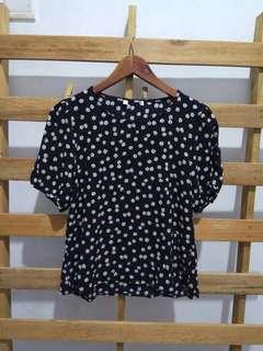 Flower woman blouse