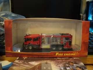 全新1:76香港消防處軌路兩用車(F7002)