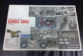 1/12 Honda CB92 (High-Tech Model)