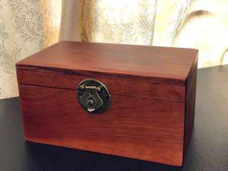越南紅木 實木中式復古珠寶盒收納盒