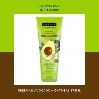 FREEMAN AVOCADO + OATMEAL 175ML