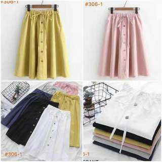 🍀Restock Skirt 5 colors available
