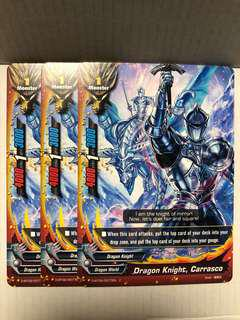 Buddyfight Dbt02 common cards