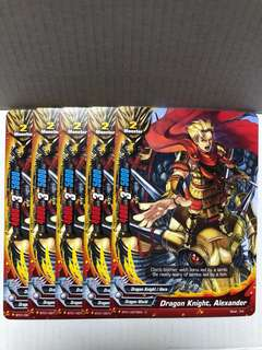 Buddyfight Bt01 common cards