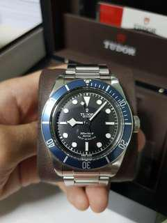 Tudor Black Bay Blue 41mm ETA Movement