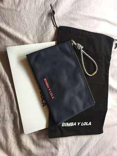 Bimba y Lola nylon clutch