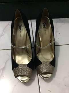 Sepatu pesta 12 cm