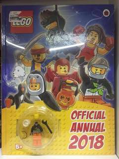 Lego Official Annual 2018 #maucoach