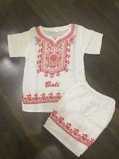 Baju Bali casual (new ) for 2 year old