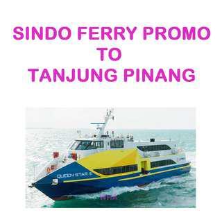 🚚 Sindo Ferry Promo to Tanjung Pinang
