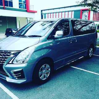 Hyundai Starex 2018 for rent