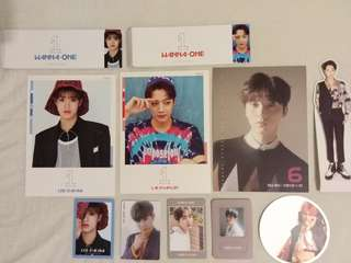 WTS - Wanna One loose items