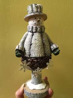 雪人陶瓷擺設公仔(每隻$350)