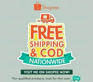 FREE SHIPPING IN MY SHOPPEE ACCOUNT