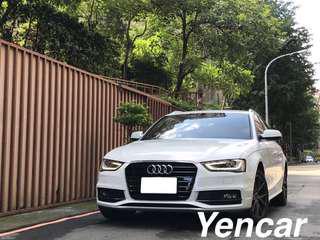 FB搜尋【阿彥嚴選認證車-Yencar】2015 A4 Avant TFSI跑3萬、中古車、二手車、全額貸、車換車