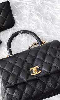 LNIB Chanel Coco Handle Mini GHW