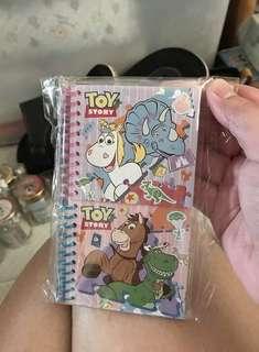 Toy story簿仔