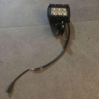 Fog light with battery(12V)