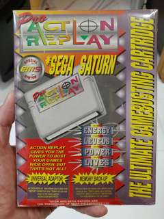 SEGA SATURN Pro Action Replay