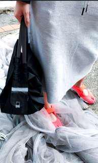 🔥破底價💰$98🔥 日本 Shupatto 快速環保收納袋-衹限黑拼灰🛍