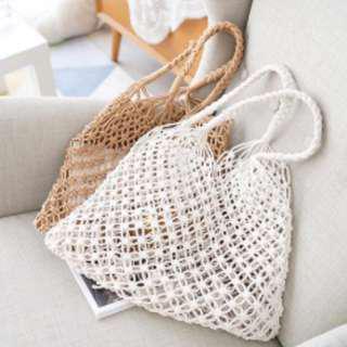 PO: Straw Weaved Bag