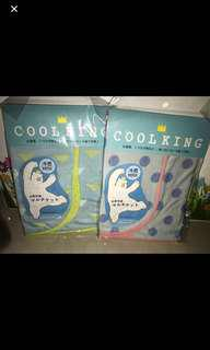 Cool King Cooling Blanket/Towel 96x50cm (Original from Japan