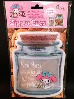 (全新) My Melody 保鮮袋 (Brand New) My Melody zipper bags