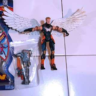Marvel Legends Angel Figure, No BAF
