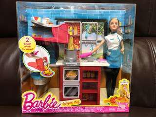 全新未開盒 Barbie Spaghetti Chef