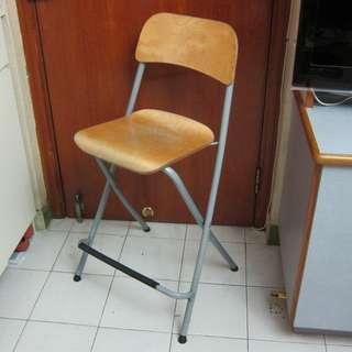 80%New(交收)IKEA高身槢椅 可作Bar枱椅 ikea 實惠