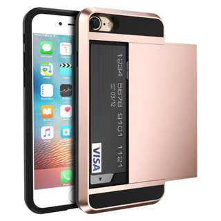 FLASH SALE $6.90 Brand new rose gold Hp and card case