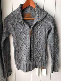 Aritzia Knit Zip Up XXS