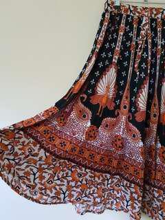 Groovy Patterned Hippy Skirt