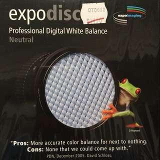 Expodisc White Balance Filter 77mm 白平衡