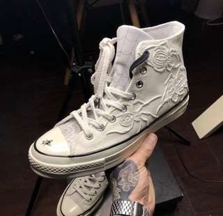 Converse x Dr Woo UK 9 100% authentic