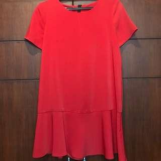 Mango Flounce dress (mini)