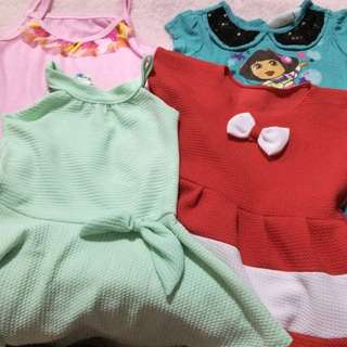 Take all dresses for 1-2years old