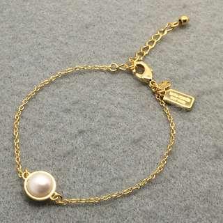 Kate Spade New York Sample Bracelets 金色珍珠半圓球手鏈