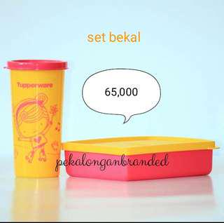 Set bekal tupperware