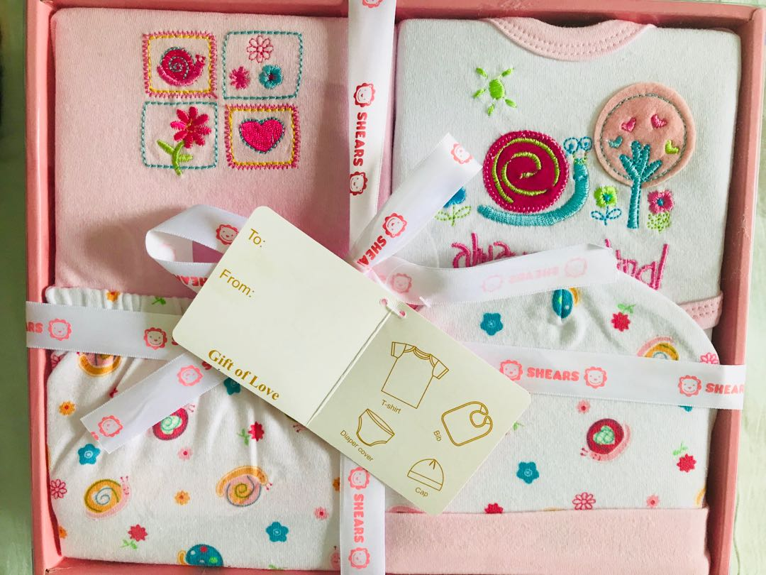 593a77f19289 4pcs shears baby gift set