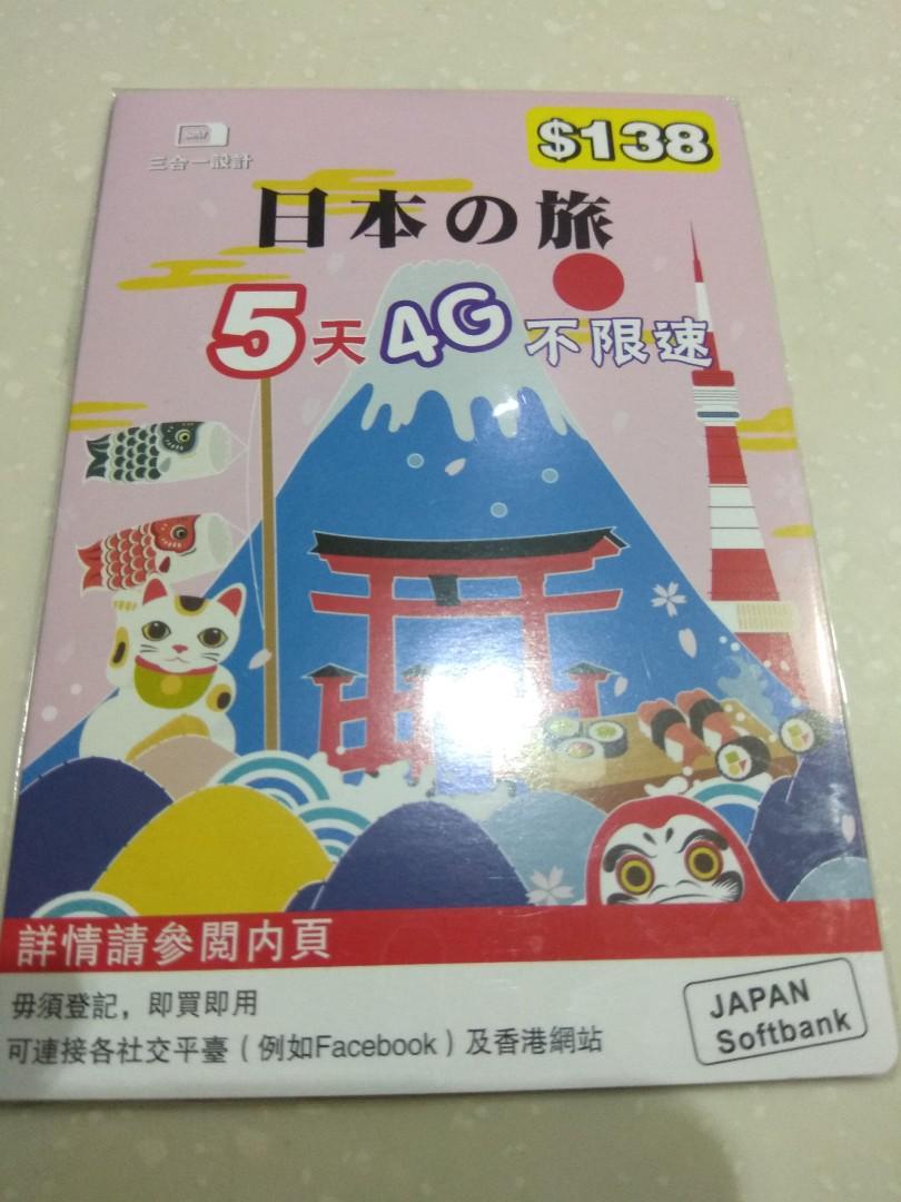 日本上網卡