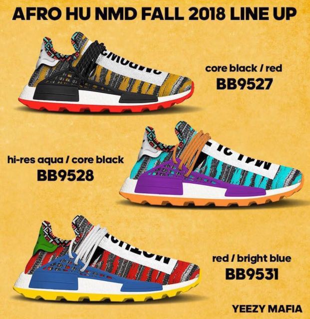 4e48cb618 Adidas x Pharrell Williams Human Race Hu NMD