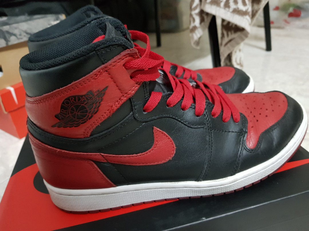 5e95a5391638d9 Air Jordan 1 Retro High OG Bred